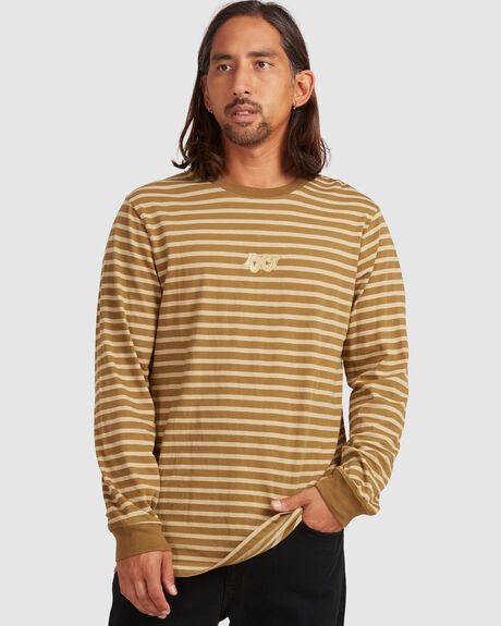 AUGUST STRIPE LS TEE