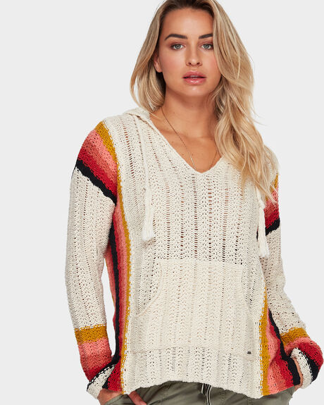 DREAM SCAPE KNIT HOODIE