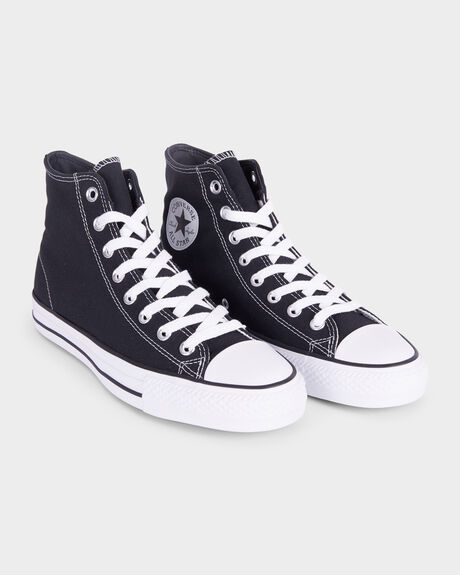 fe34f39f03ff Black black white CONVERSE CTAS PRO HIGH TOP SHOE