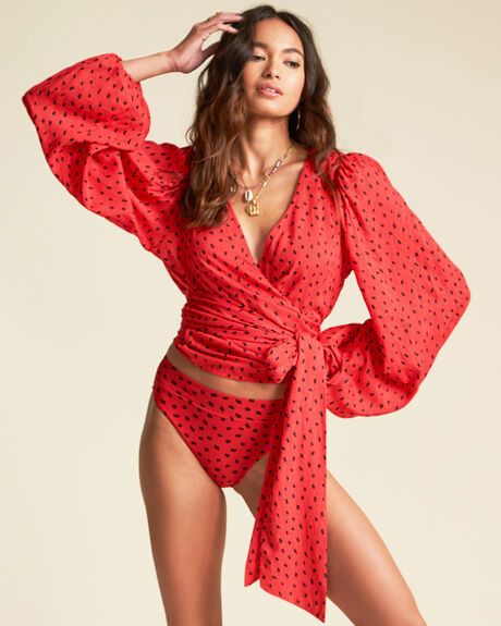 X SINCERELY JULES WRAPPED IN LOVE TOP