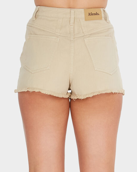 AFENDS DENNY DENIM SHORT