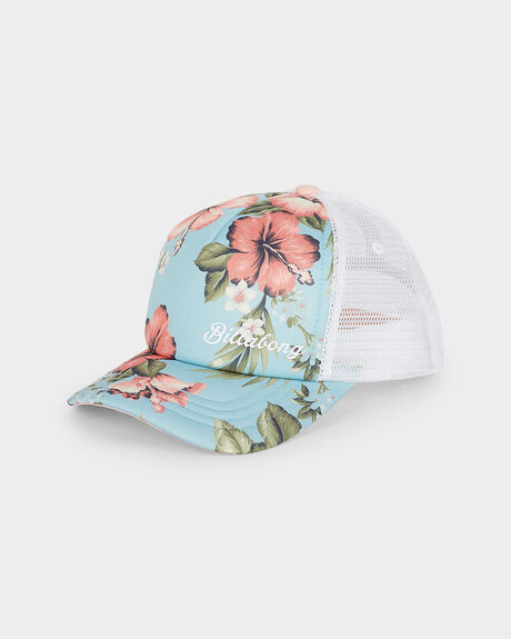 SWEETHEART FLORAL TRUCKER
