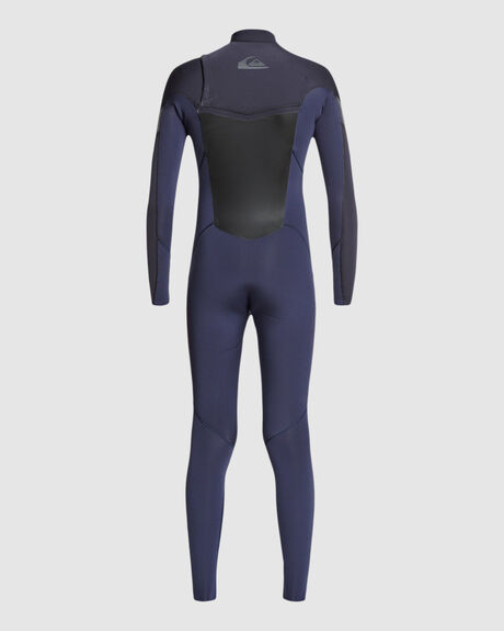 3/2MM SYNCRO - BACK ZIP GBS WETSUIT FOR BOYS 8-16