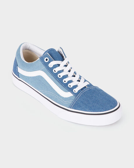 OLD SKOOL (DENIM 2-TONE) BLUE/ WHITE SHOE