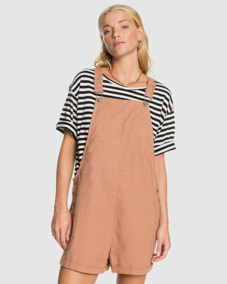 WOMENS LOW RISING DUNGAREE
