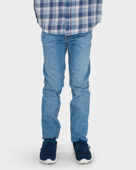 Slickr Tapered Pacific Blue Jean