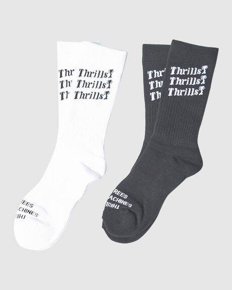 THRILLS UNLIMITED SOCK 2 PACK