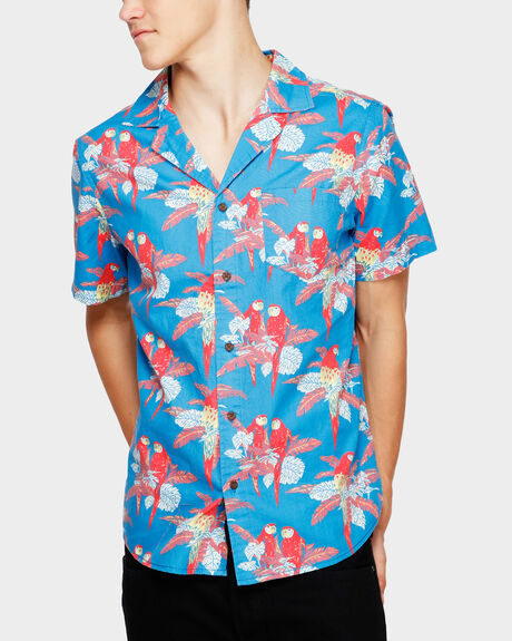PARAKEET SHORT SLEEVE SHIRT