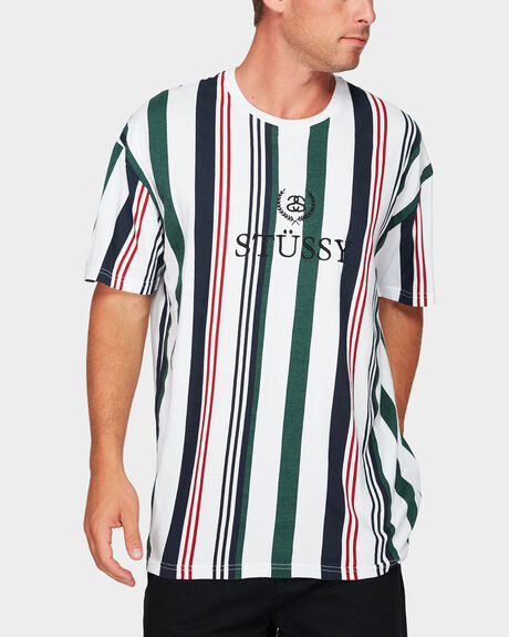 MADE VERT STRIPE SHORT SLEEVE TEE