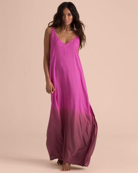 HIGH POINT SLIP MAXI DRESS