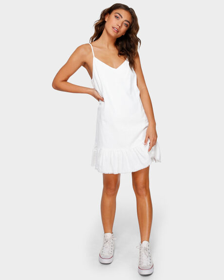 FRAYED FRILL DRESS