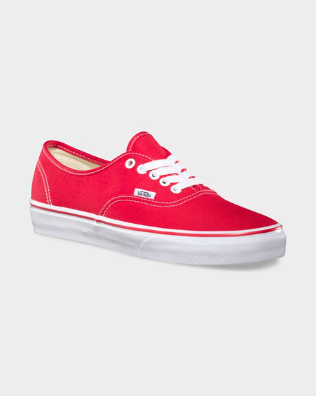 AUTHENTIC RED SHOE