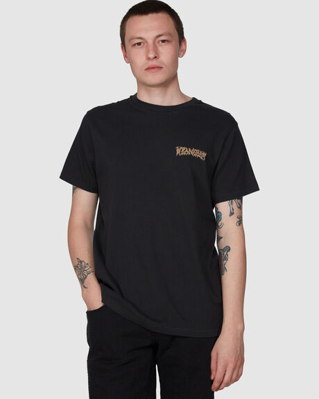 QUARTERED PLANET SS TEE