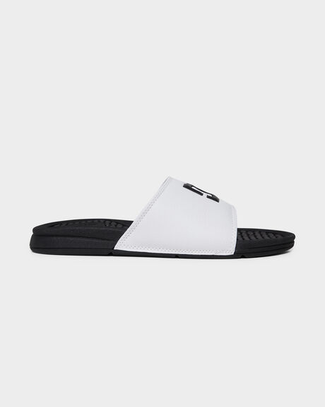 BOLSA SLIDE WHITE/BLACK