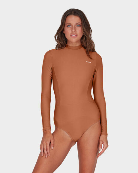 TANLINES ONE PIECE RASH GUARD