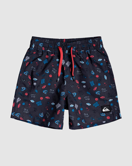 "BOYS MINI RAVE 12"" SWIM SHORTS"
