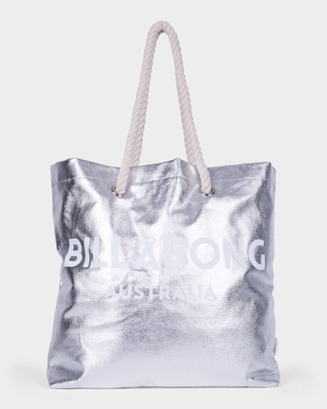 ESSENTIAL METALLIC BEACH BAG