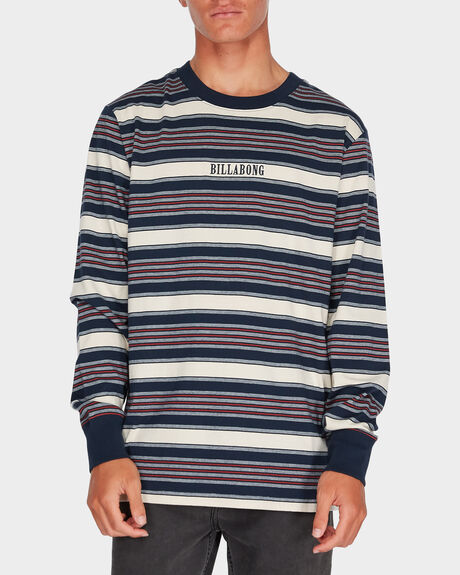 MIX UP STRIPE LS TEE