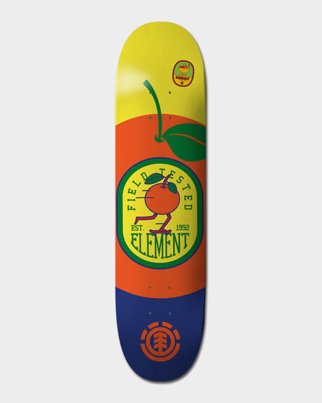 YOU ARE WHAT YOU EAT ORANGE 8 DECK