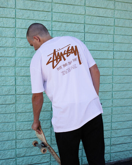 BUST YOUR OWN BEAT SHORT SLEEVE TEE