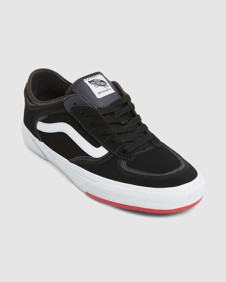 ROWLEY CLASSIC 66/99/19 BLACK RED SKATE SHOE