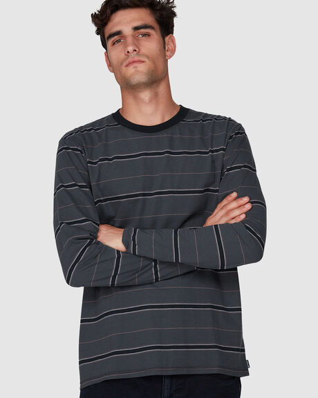 DRI-FIT HARVEY STRIPE  LONG SLEEVE TEE