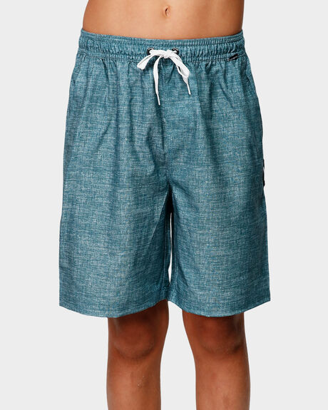 HEATHER VOLLEY BOYS ELASTIC SHORT