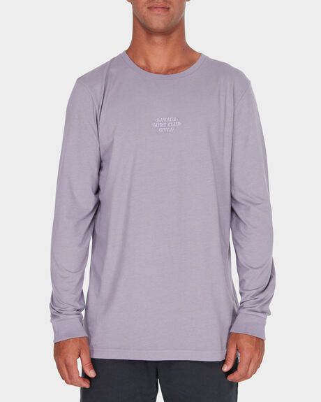 SAVAGE SURF CLUB LS EMBROIDERY TEE