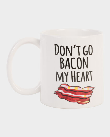 BACON HEART MUG SET