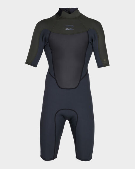 202 ABSOLUTE FLAT LOCK BACK ZIP SPRING SUIT