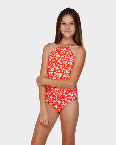 POPPY FLORAL ONE PIECE