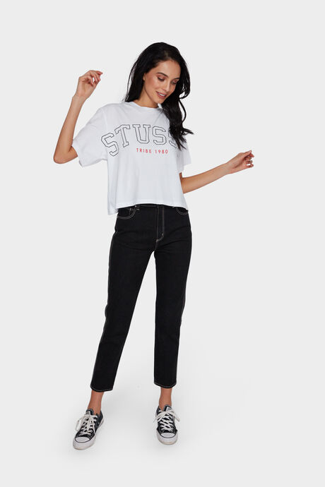 OUTLINES CROP OVERSIZED TEE