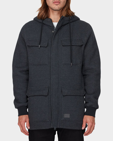 A4 BONDED ZIP THROUGH JACKET