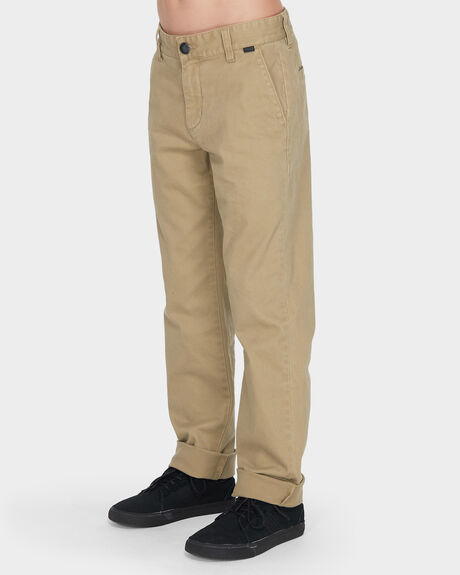 NEW ORDER CHINO ROLL UP PANTS