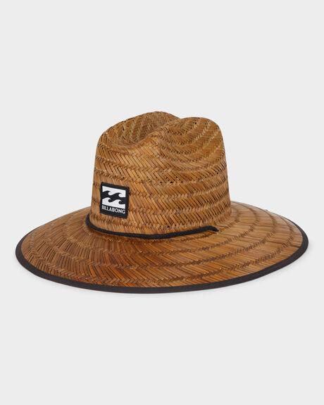 TIDES PRINT STRAW HAT
