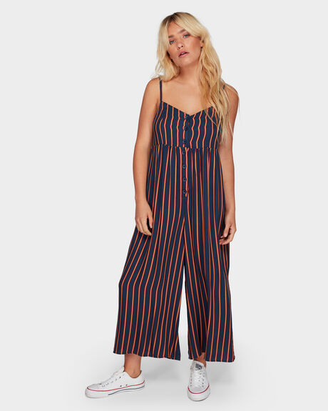LOUNGER ONESIE STRIPE