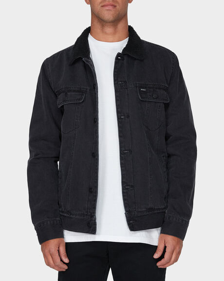 DAGGERS DENIM SHERPA JACKET
