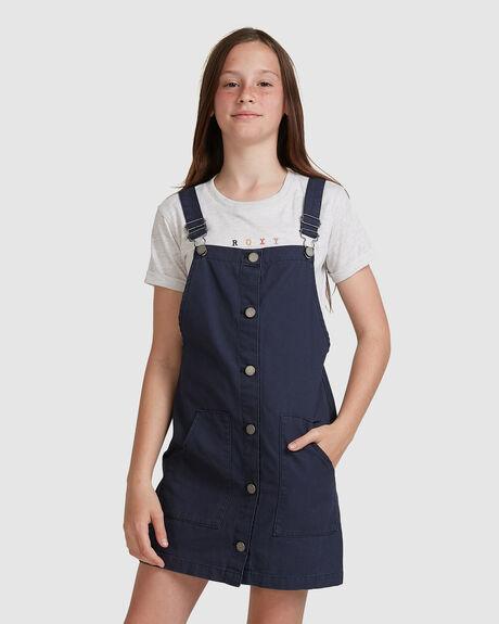 GIRLS 4-16 FULL MOON SONG PINAFORE DRESS