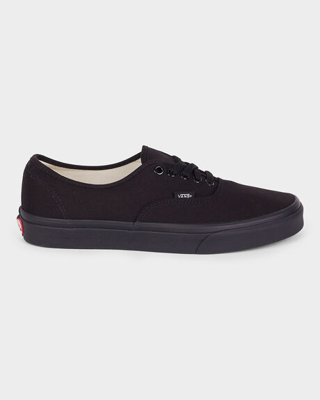 AUTHENTIC VANS BLACK/ BLACK SHOE