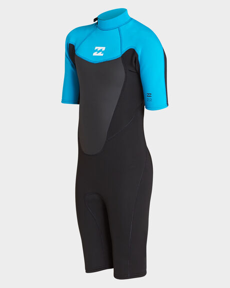 BOYS ABSOLUTE COMP 202 BACK ZIP SPRING WETSUIT