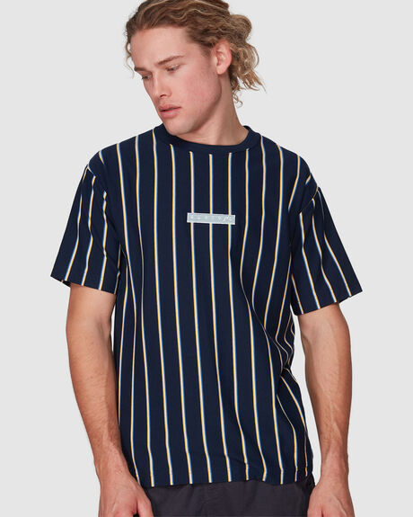 UP AND DOWN SHORT SLEEVE TEE