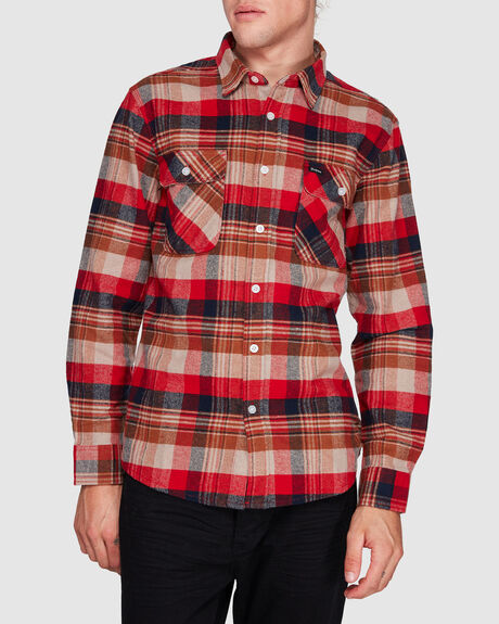 BOWERY LONG SLEEVE FLANNEL SHIRT