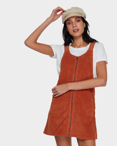 JORDAN PINAFORE DRESS
