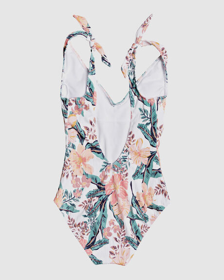 WOMENS JUST SHINE ONE-PIECE SWIMSUIT