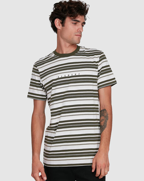 GYM STRIPE TEE