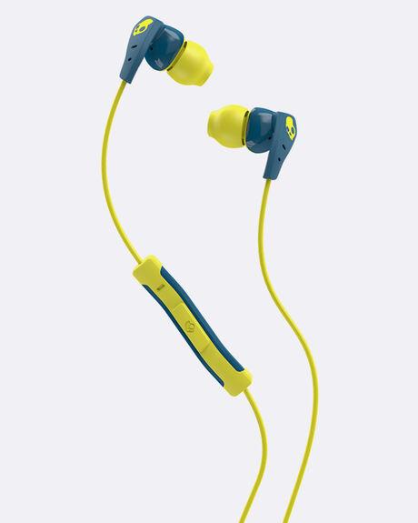 METHOD IN-EAR TEAL/YELLOW