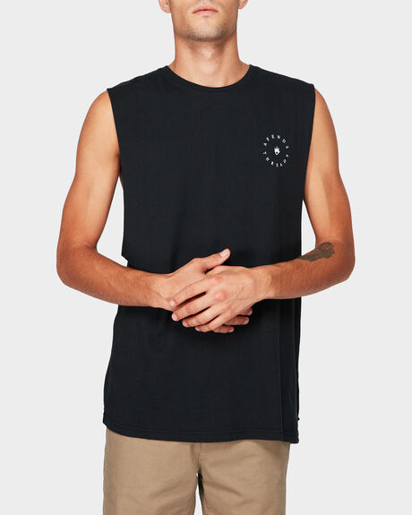 ESTABLISHED BANDCUT MUSCLE TEE