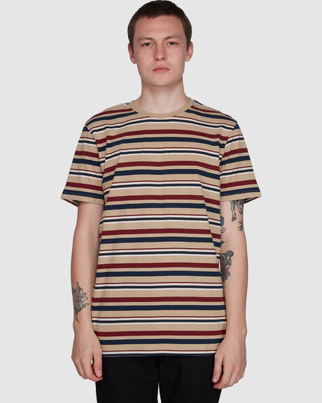 FAIRWAY STRIPE SS TEE