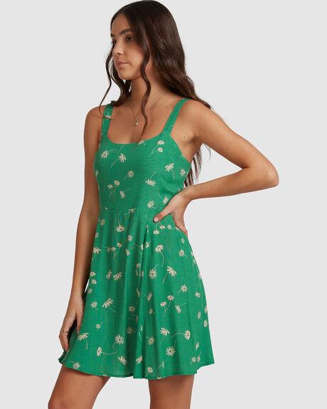 EMERALD LUSTRE DRESS