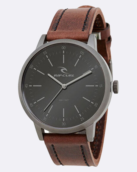 DRAKE LEATHER GUNMETAL